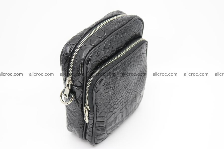Crocodile skin men's bag 1261