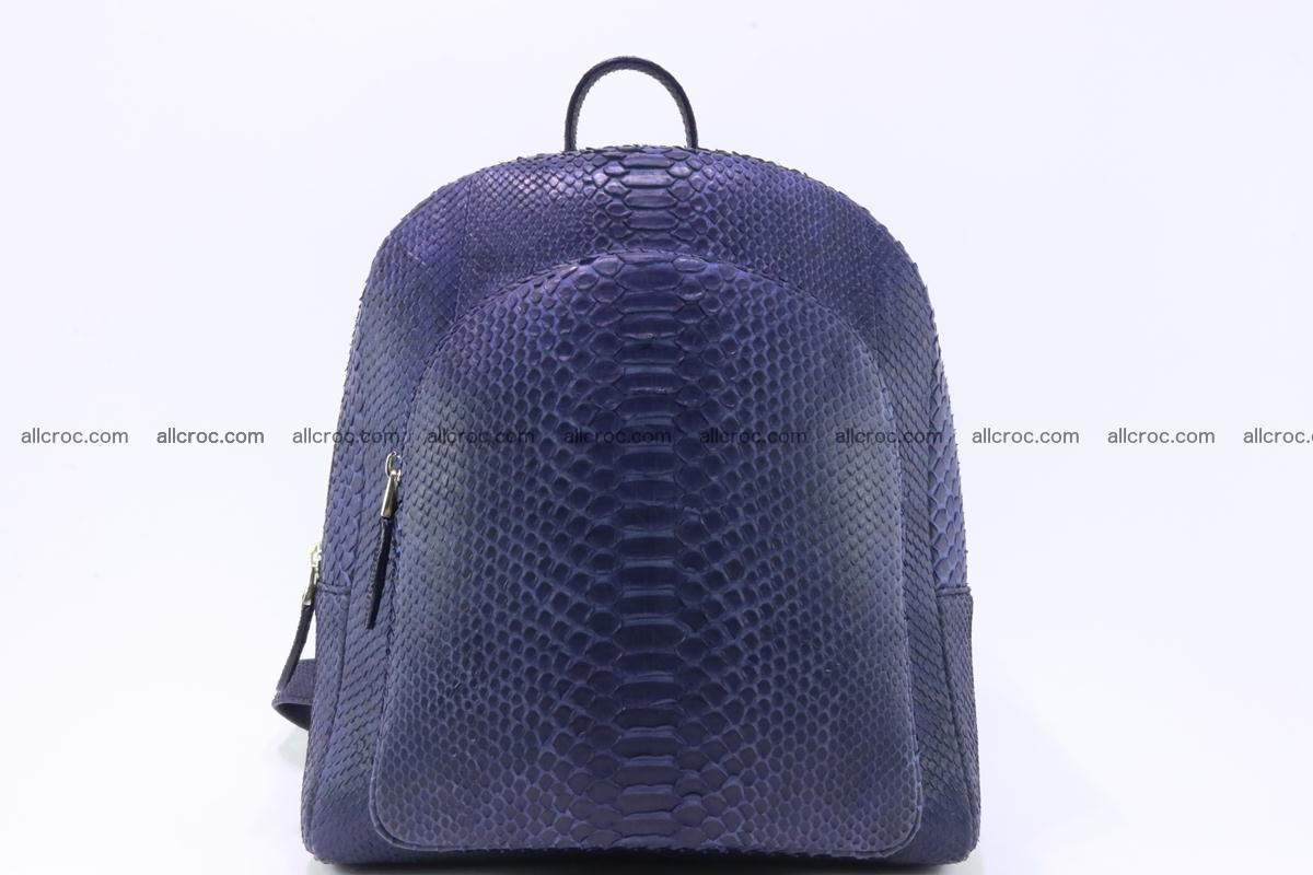 Backpack from genuine python skin 223 Foto 0