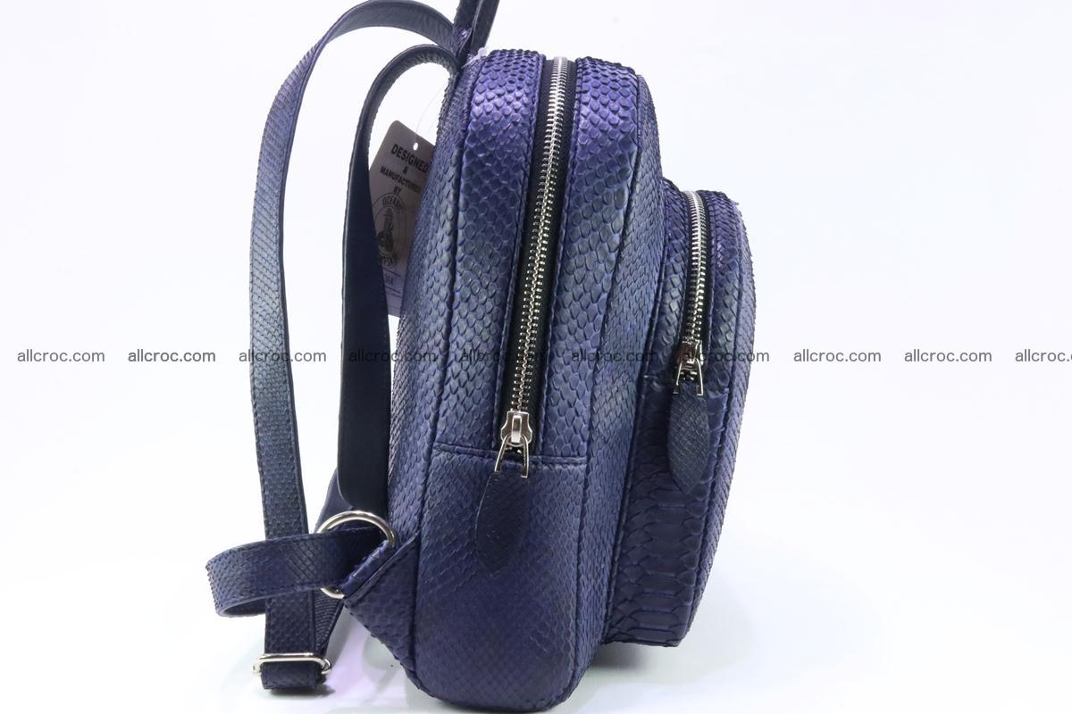 Backpack from genuine python skin 223 Foto 5