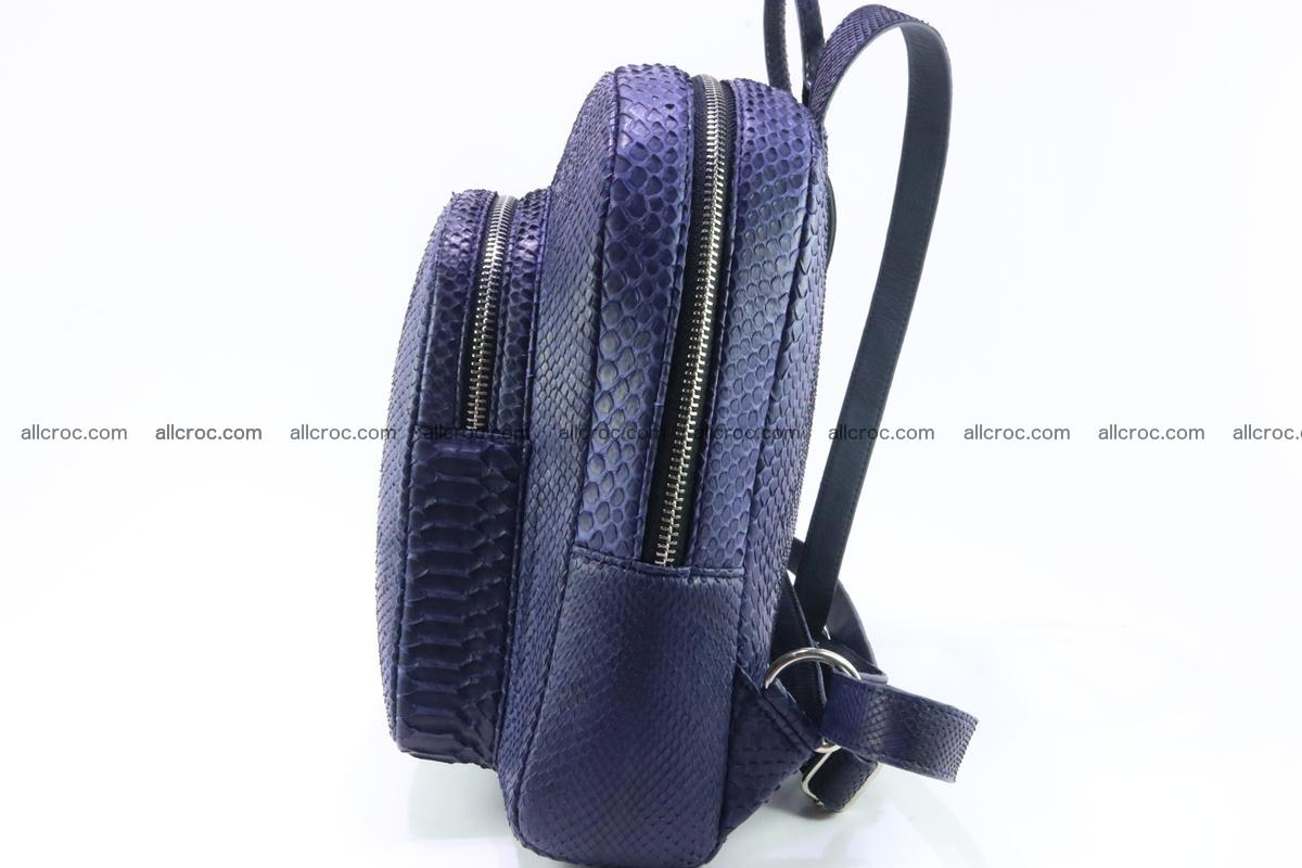 Backpack from genuine python skin 223 Foto 6