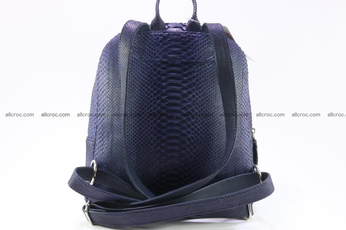 Backpack from genuine python skin 223 Foto 2