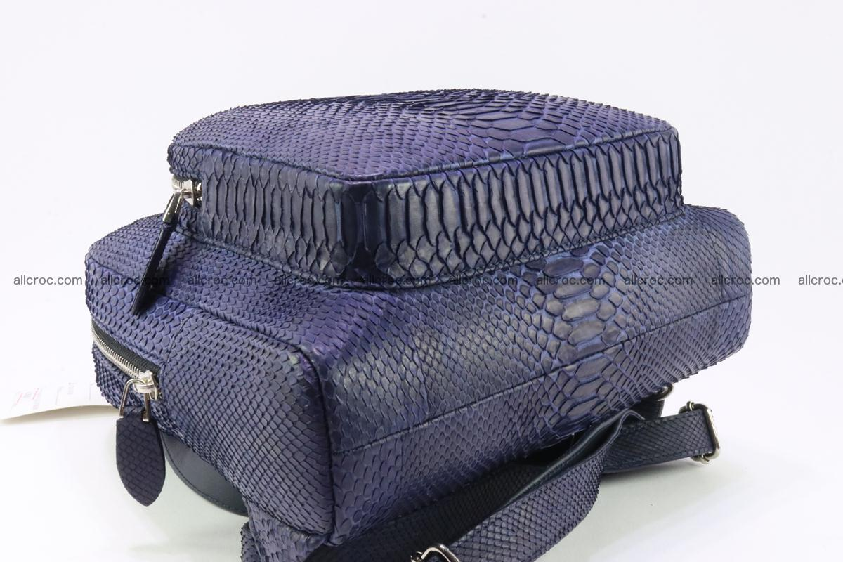 Backpack from genuine python skin 223 Foto 11