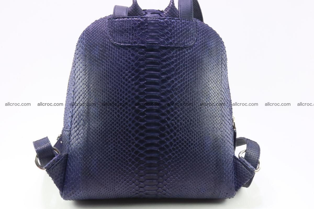 Backpack from genuine python skin 223 Foto 1
