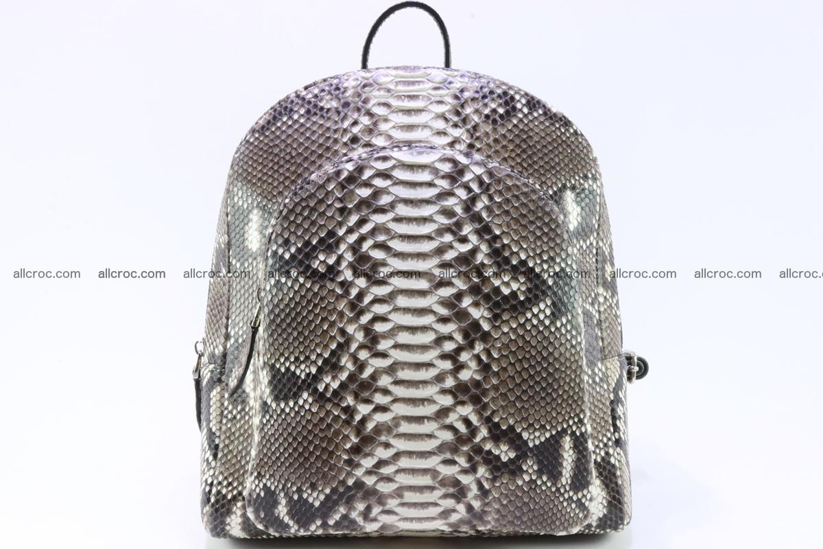 Backpack from genuine python skin 224 Foto 0