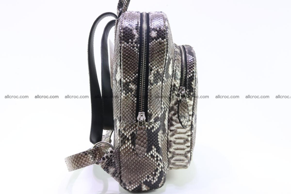 Backpack from genuine python skin 224 Foto 3