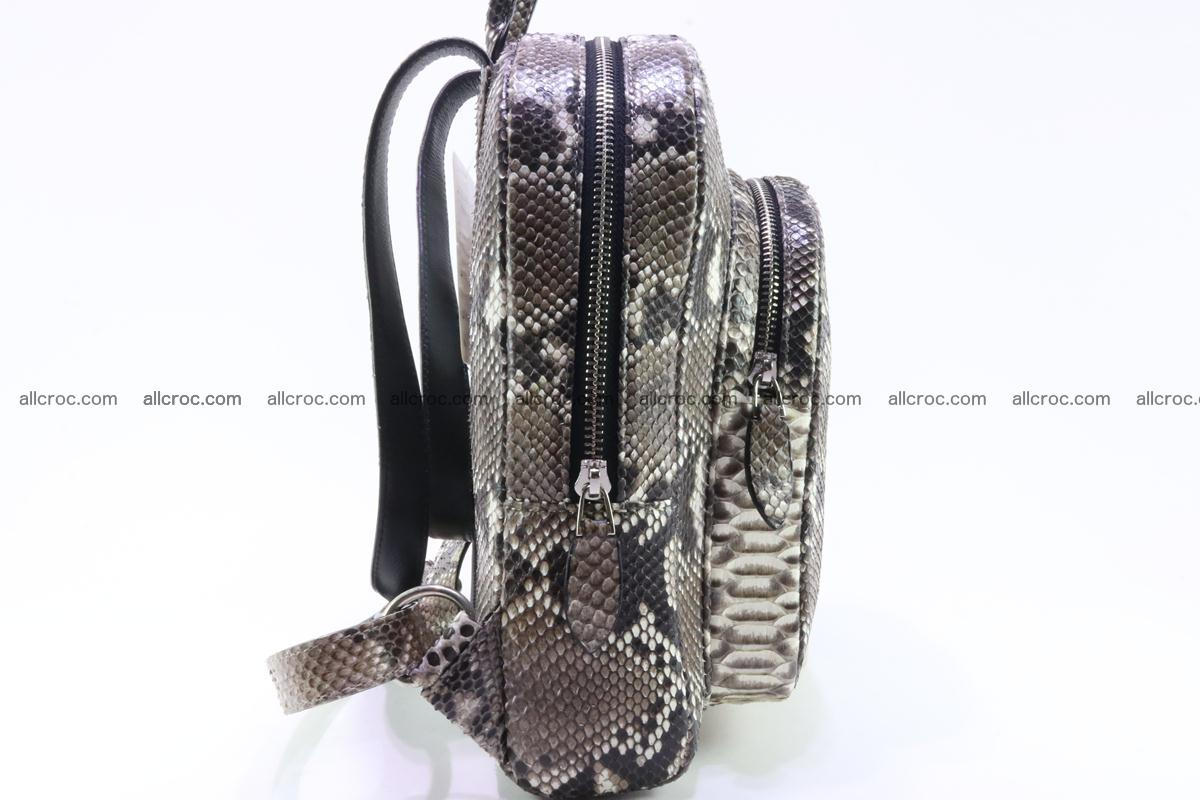 Backpack from genuine python skin 224 Foto 4