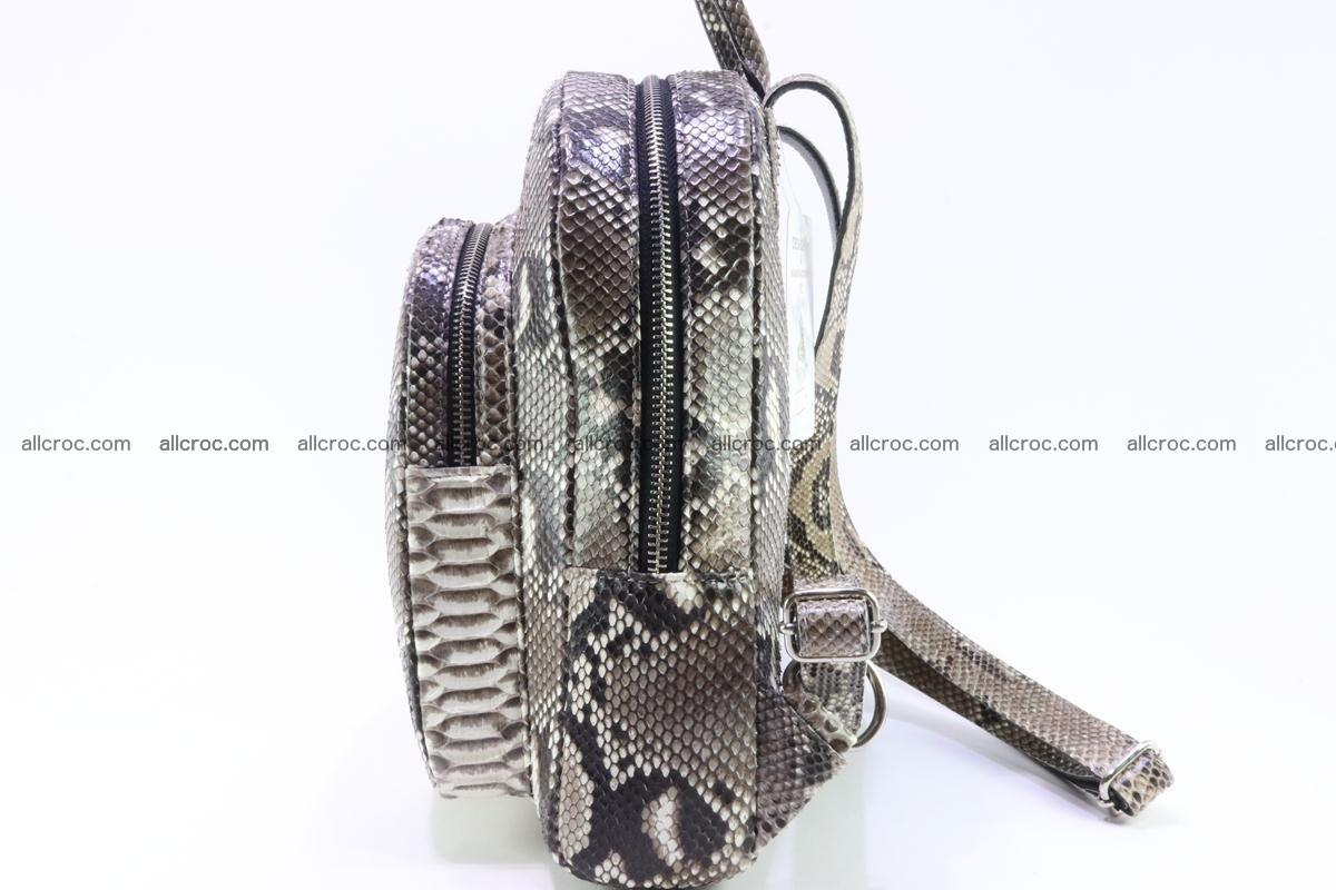 Backpack from genuine python skin 224 Foto 2
