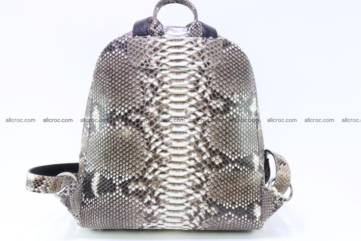 Backpack from genuine python skin 224 Foto 1