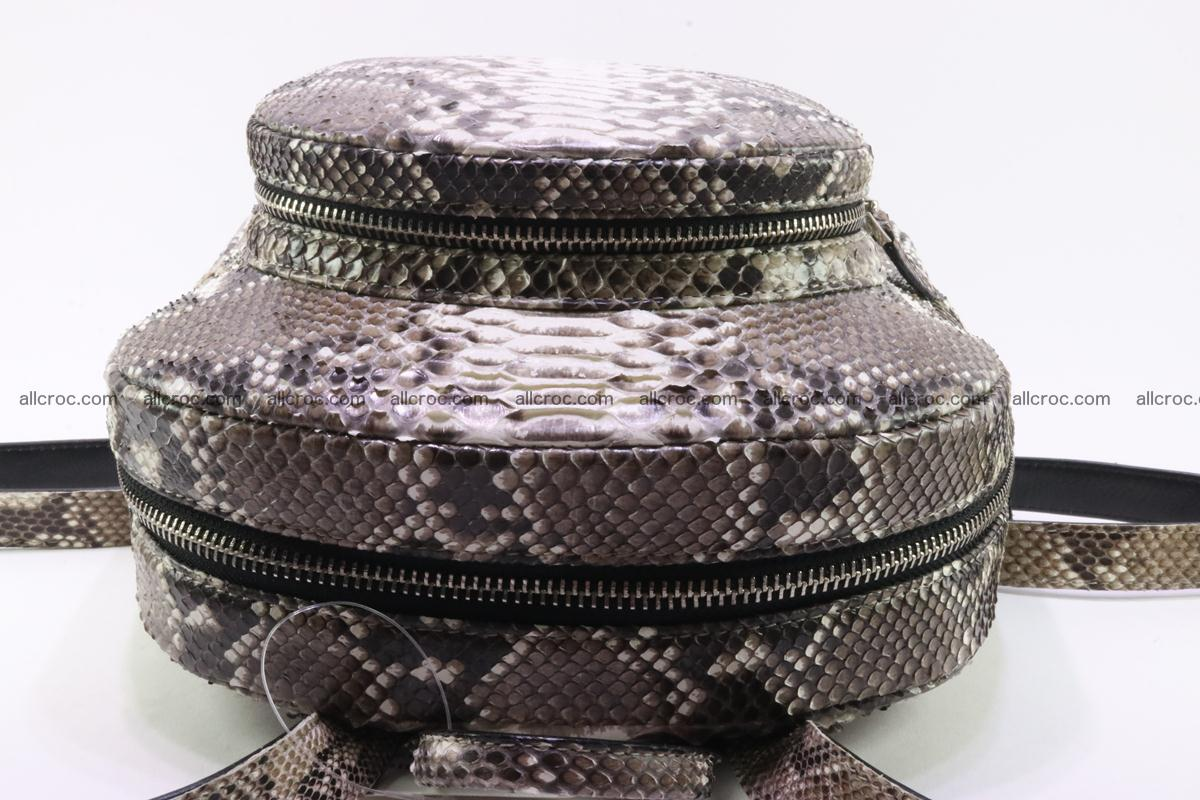 Backpack from genuine python skin 224 Foto 6
