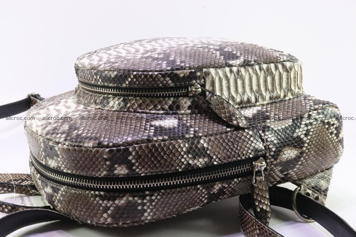 Backpack from genuine python skin 224 Foto 5