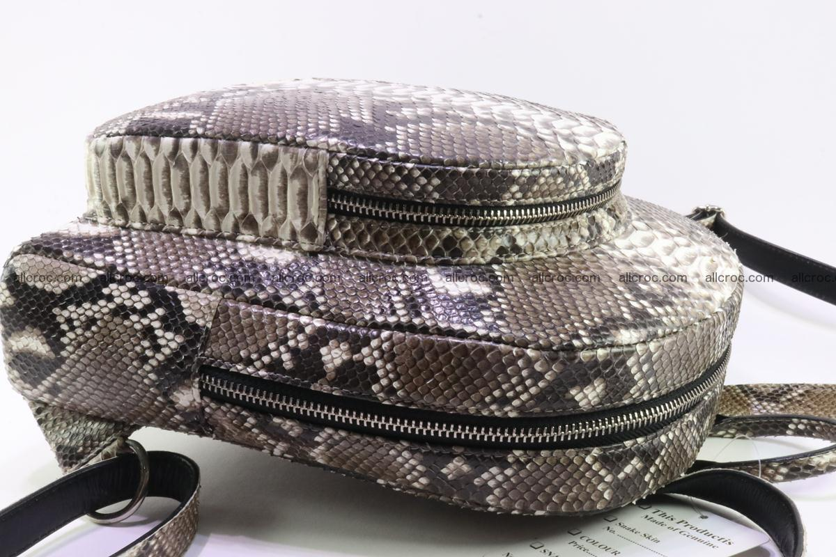 Backpack from genuine python skin 224 Foto 7