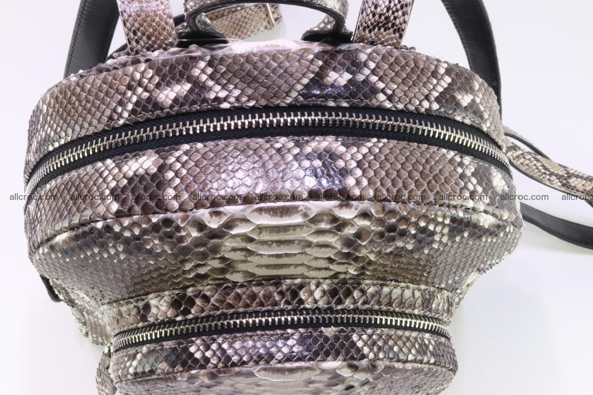 Backpack from genuine python skin 224 Foto 11