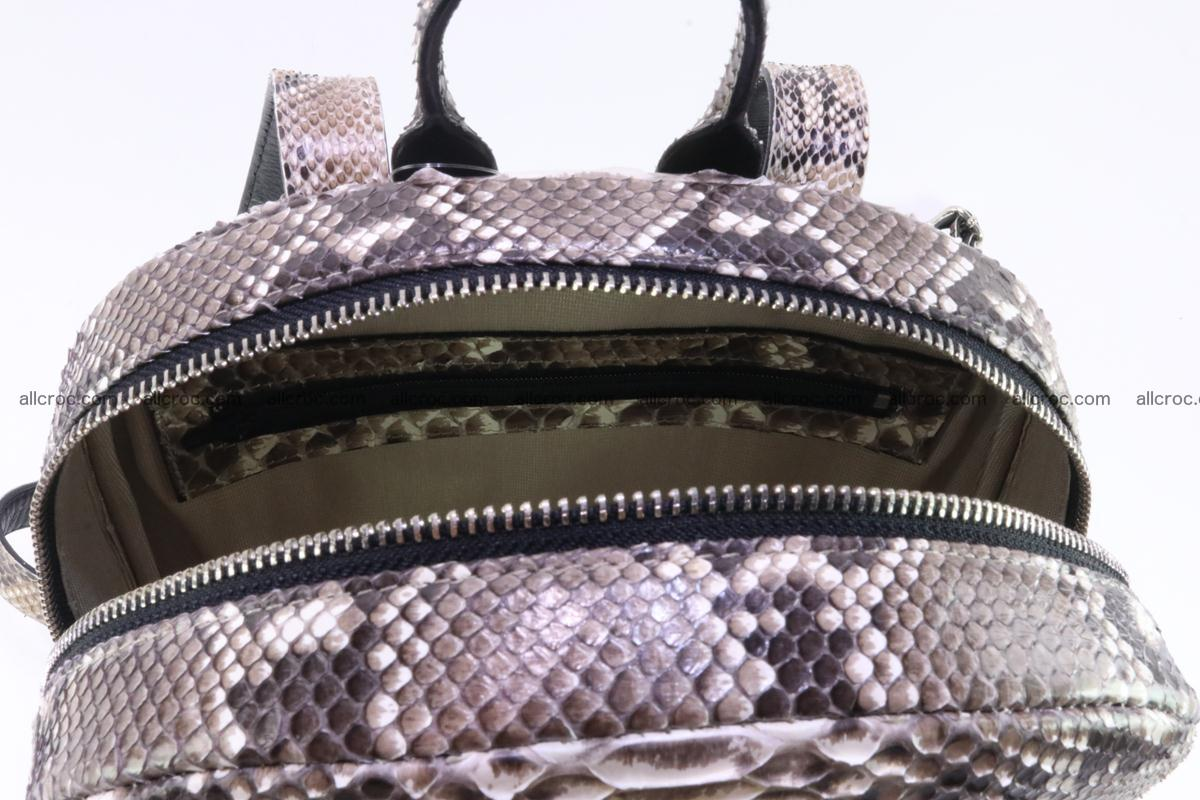 Backpack from genuine python skin 224 Foto 10