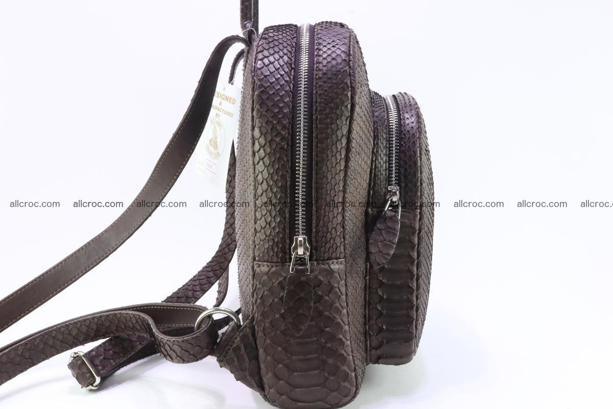 Backpack from genuine python skin 225 Foto 2