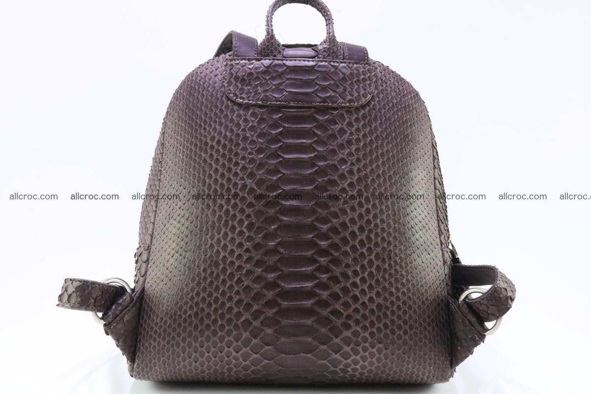 Backpack from genuine python skin 225 Foto 1