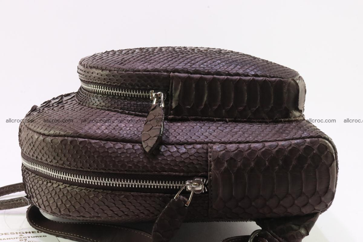Backpack from genuine python skin 225 Foto 5
