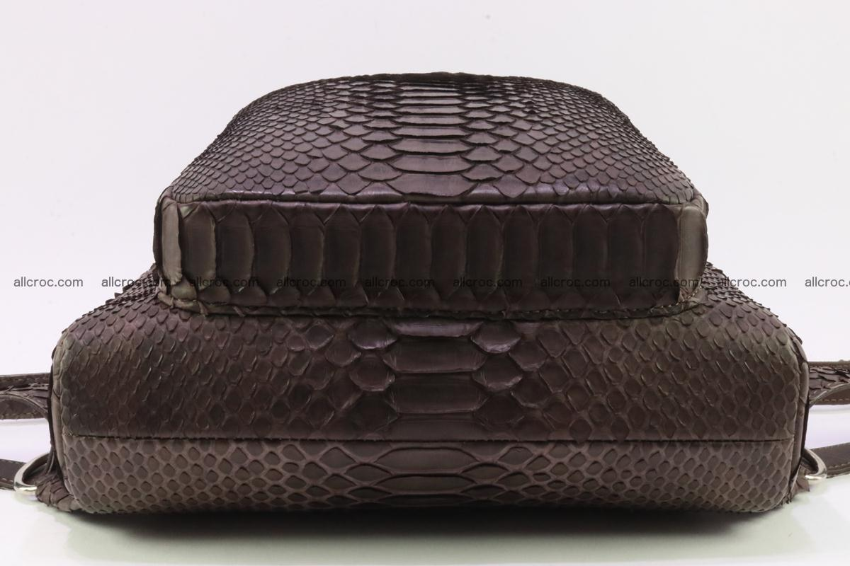 Backpack from genuine python skin 225 Foto 7