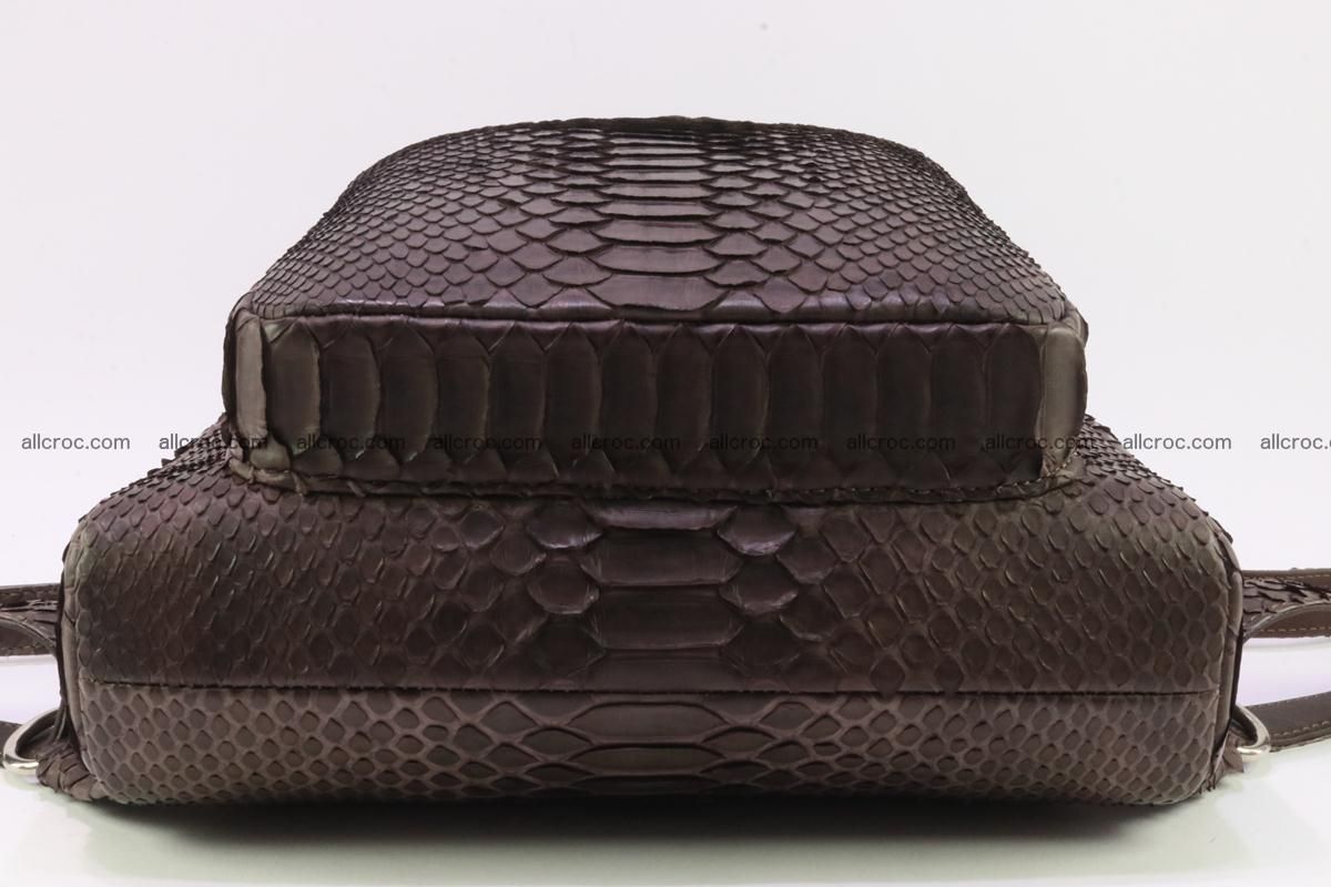 Backpack from genuine python skin 225 Foto 6