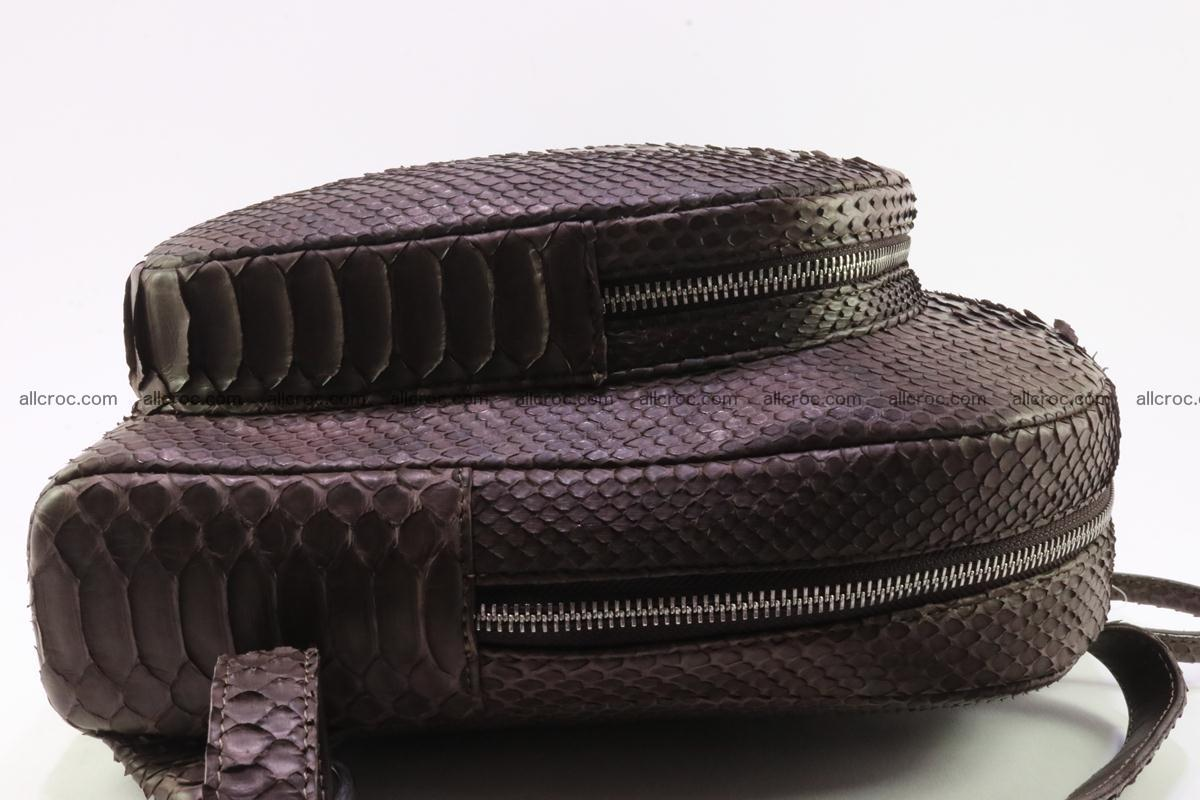 Backpack from genuine python skin 225 Foto 8