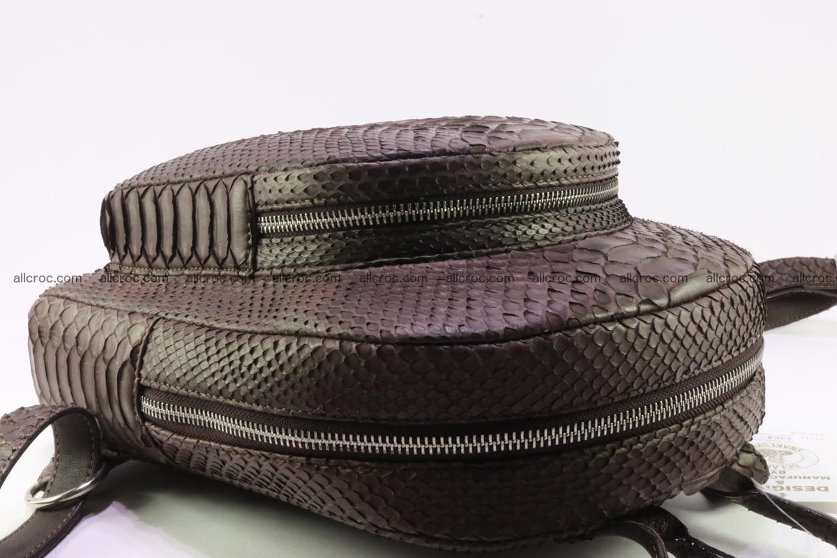 Backpack from genuine python skin 225 Foto 10