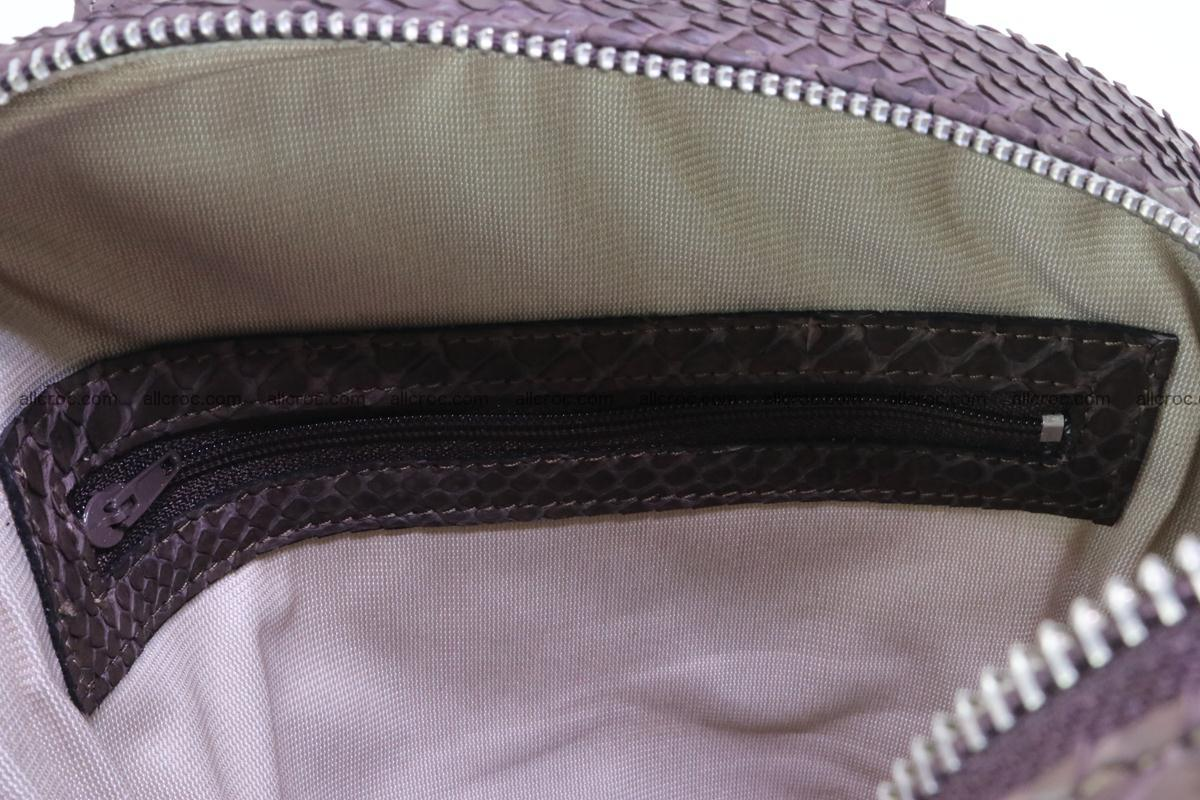 Backpack from genuine python skin 225 Foto 11