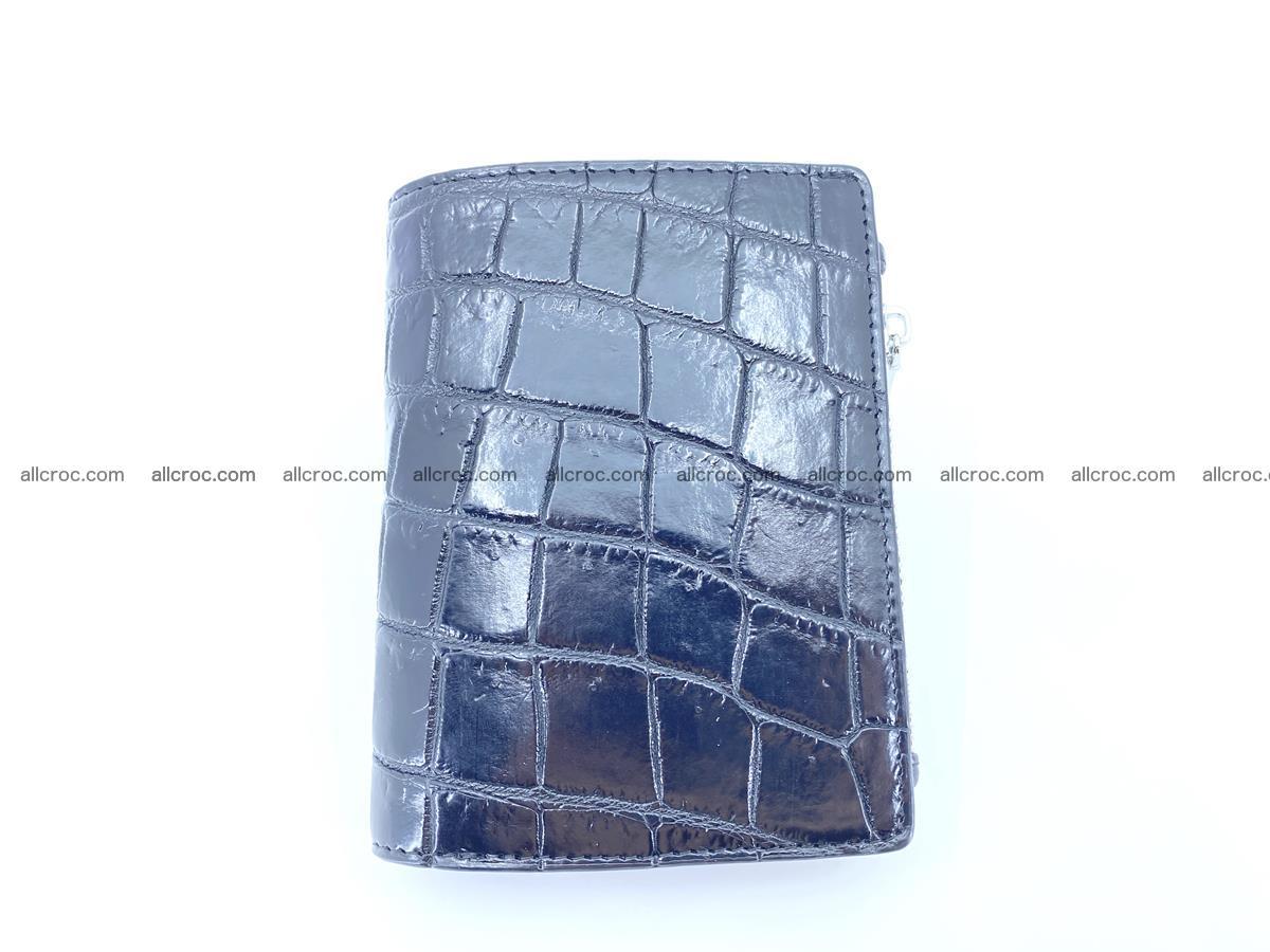 Crocodile leather vertical wallet HK 634 Foto 0