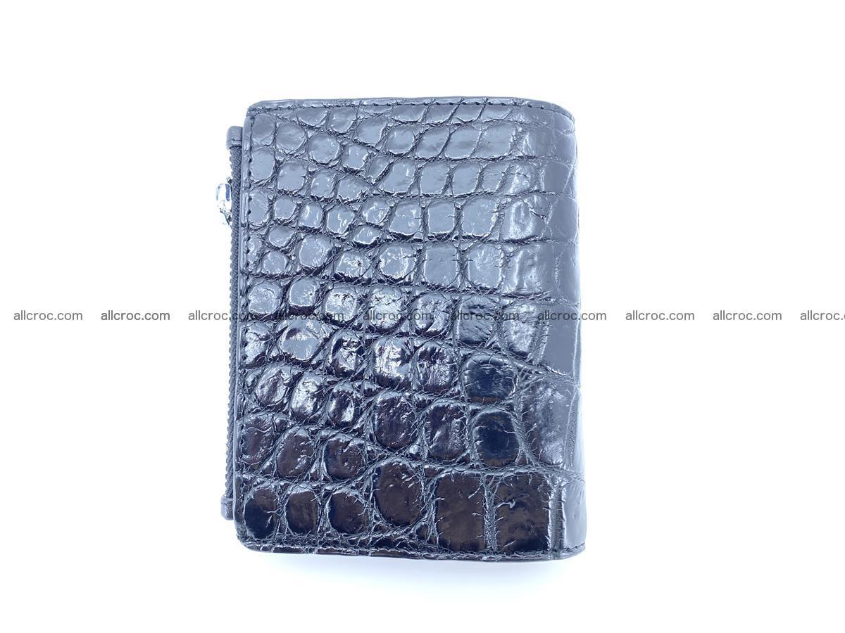 Crocodile leather vertical wallet HK 634 Foto 1