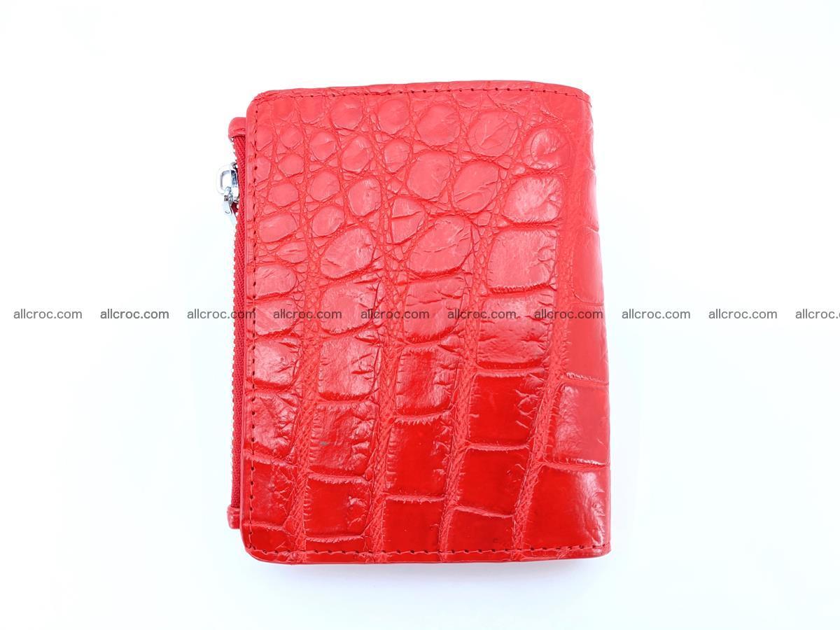 Crocodile leather vertical wallet HK 633 Foto 1