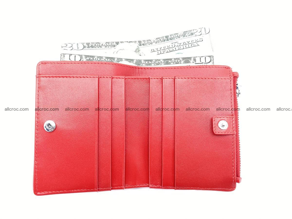Crocodile leather vertical wallet HK 633 Foto 5