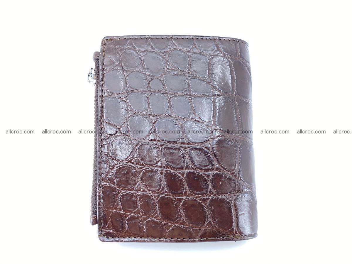 Crocodile leather vertical wallet HK 632 Foto 1