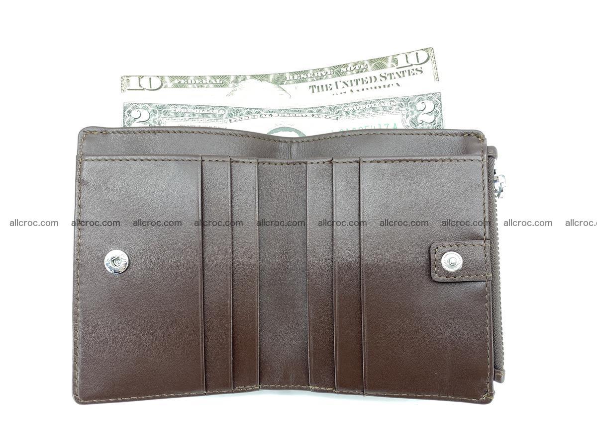 Crocodile leather vertical wallet HK 632 Foto 5