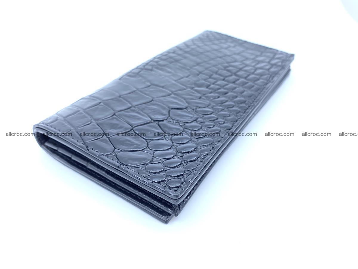 bifold long wallet from crocodile skin 484 Foto 0