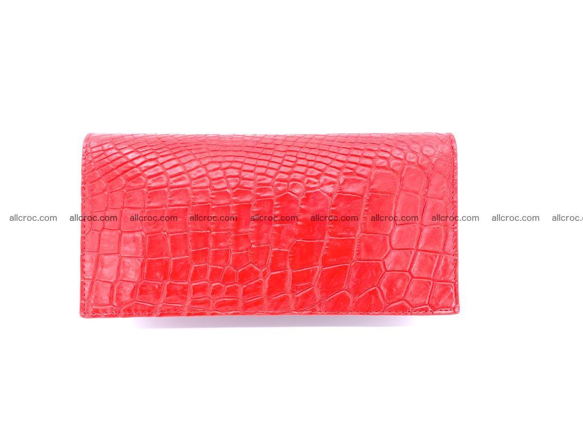 bifold long wallet from genuine crocodile skin 493 Foto 2