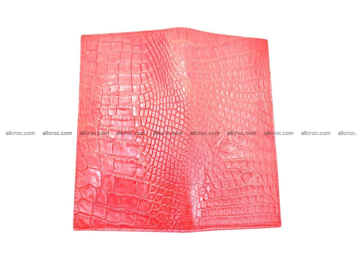 bifold long wallet from genuine crocodile skin 493 Foto 9
