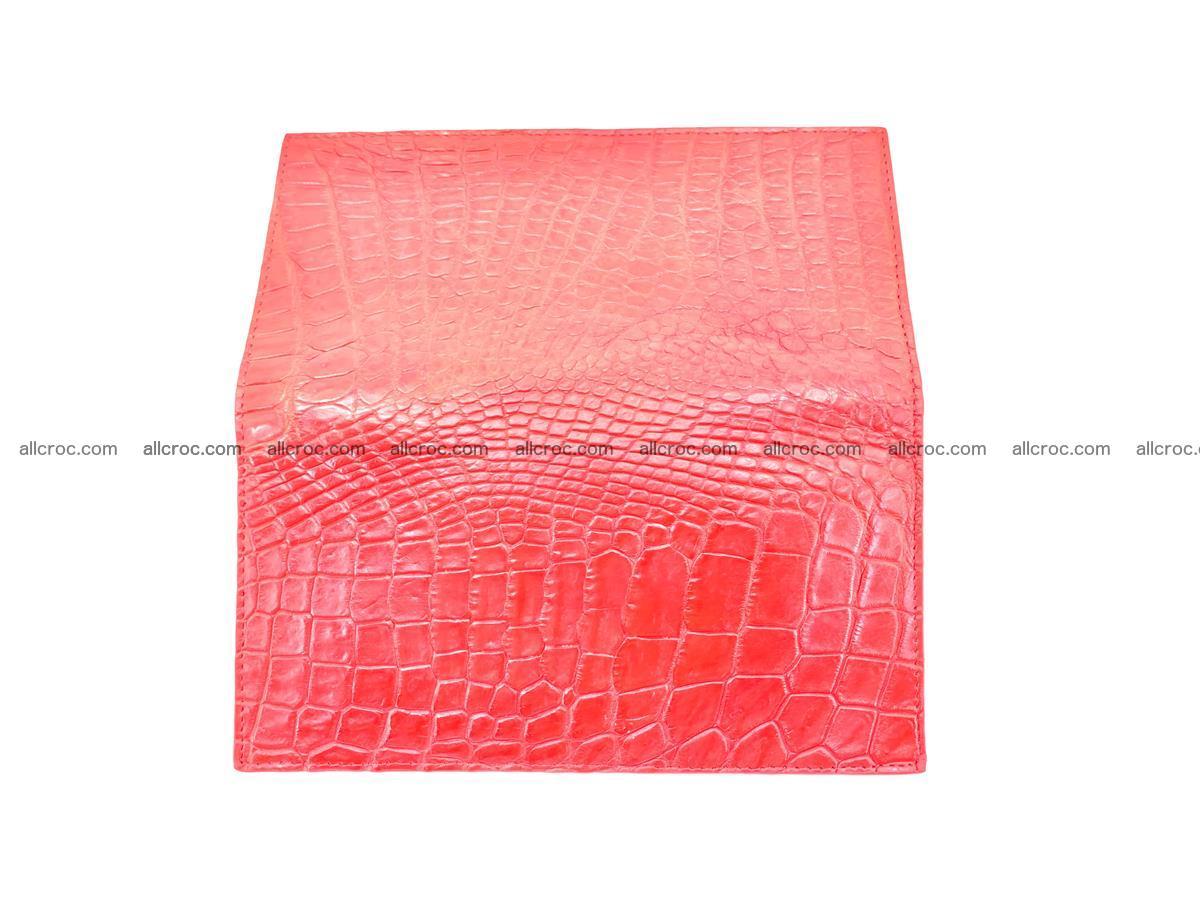 bifold long wallet from genuine crocodile skin 493 Foto 10