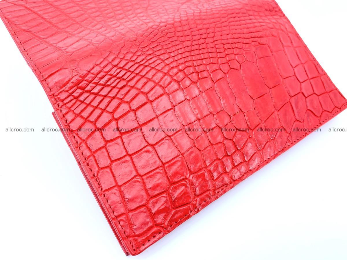 bifold long wallet from genuine crocodile skin 493 Foto 11