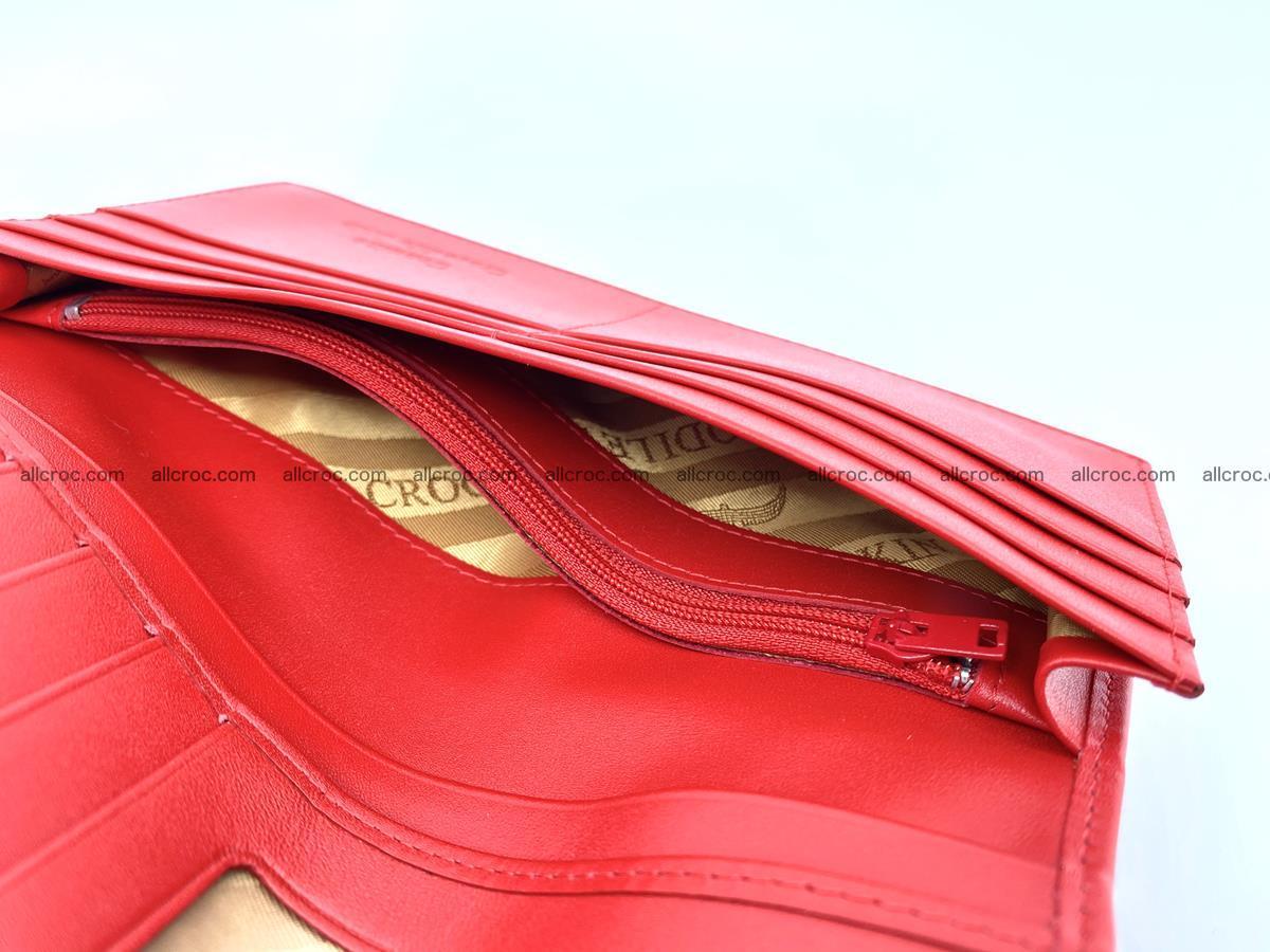 bifold long wallet from genuine crocodile skin 493 Foto 12