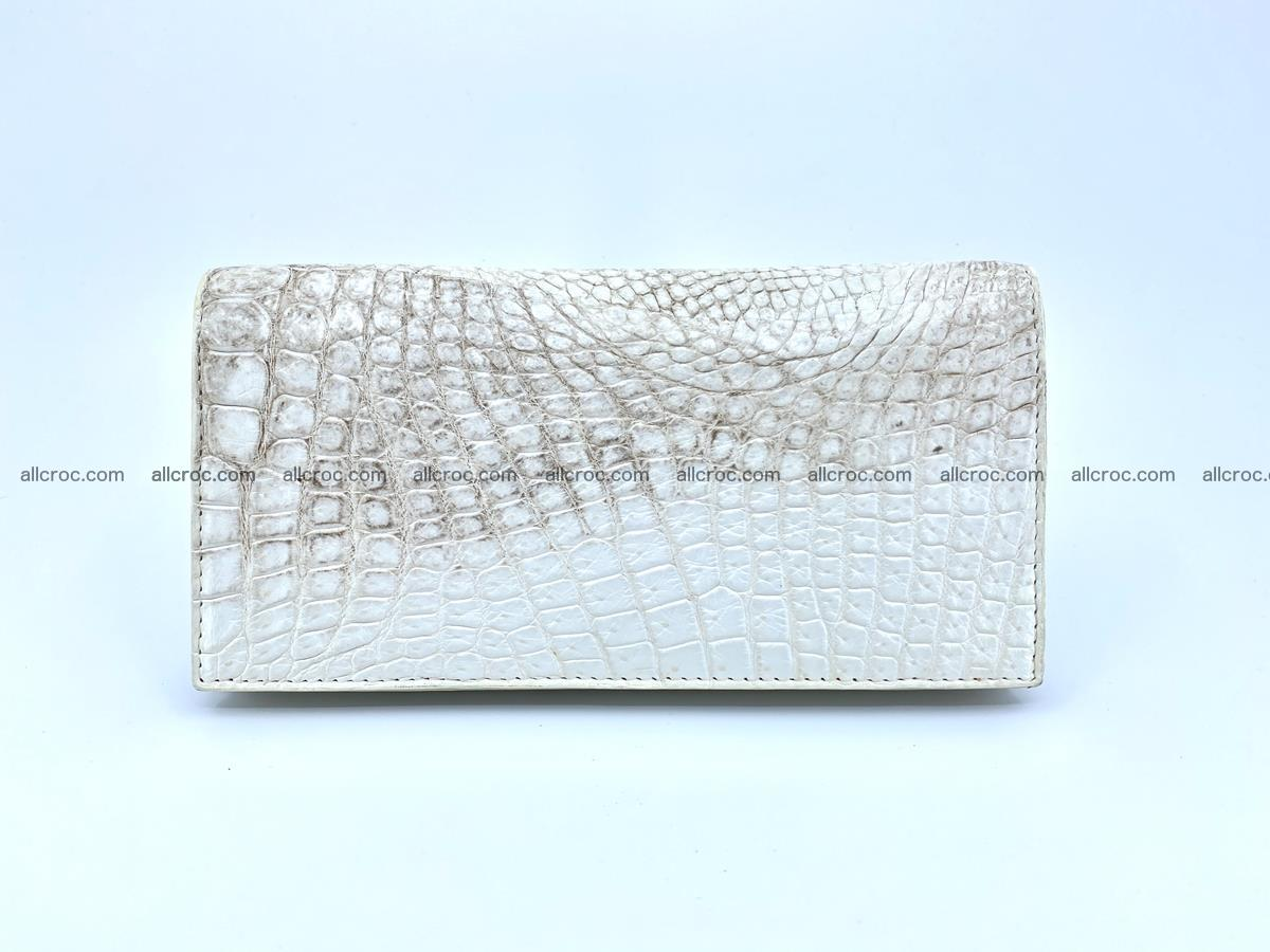 bifold long wallet from genuine crocodile skin 494 Foto 2
