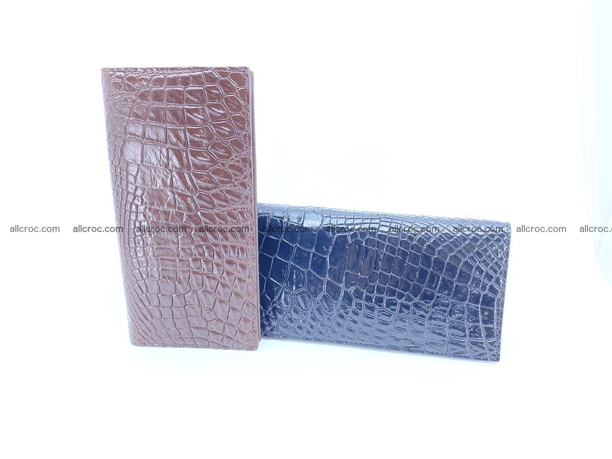 bifold long wallet from genuine crocodile skin 489 Foto 16