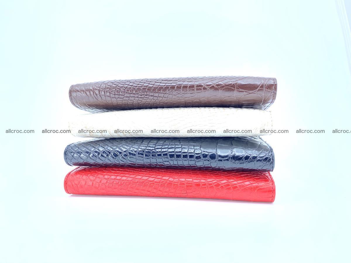 bifold long wallet from genuine crocodile skin 493 Foto 14