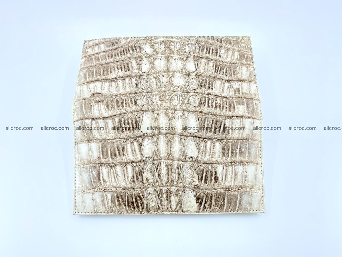 bifold long wallet from genuine crocodile skin 496 Foto 8