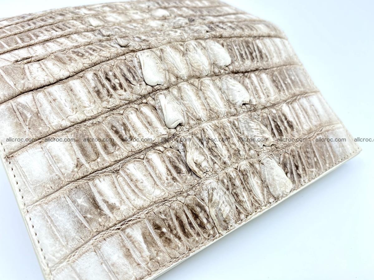 bifold long wallet from genuine crocodile skin 496 Foto 10