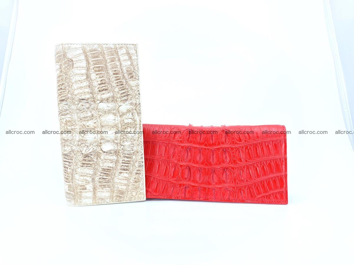 bifold long wallet from genuine crocodile skin 496 Foto 16