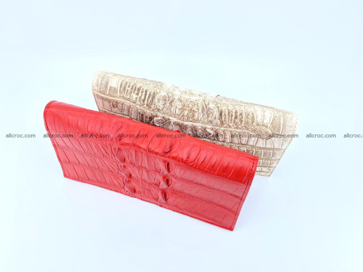 bifold long wallet from genuine crocodile skin 496 Foto 14