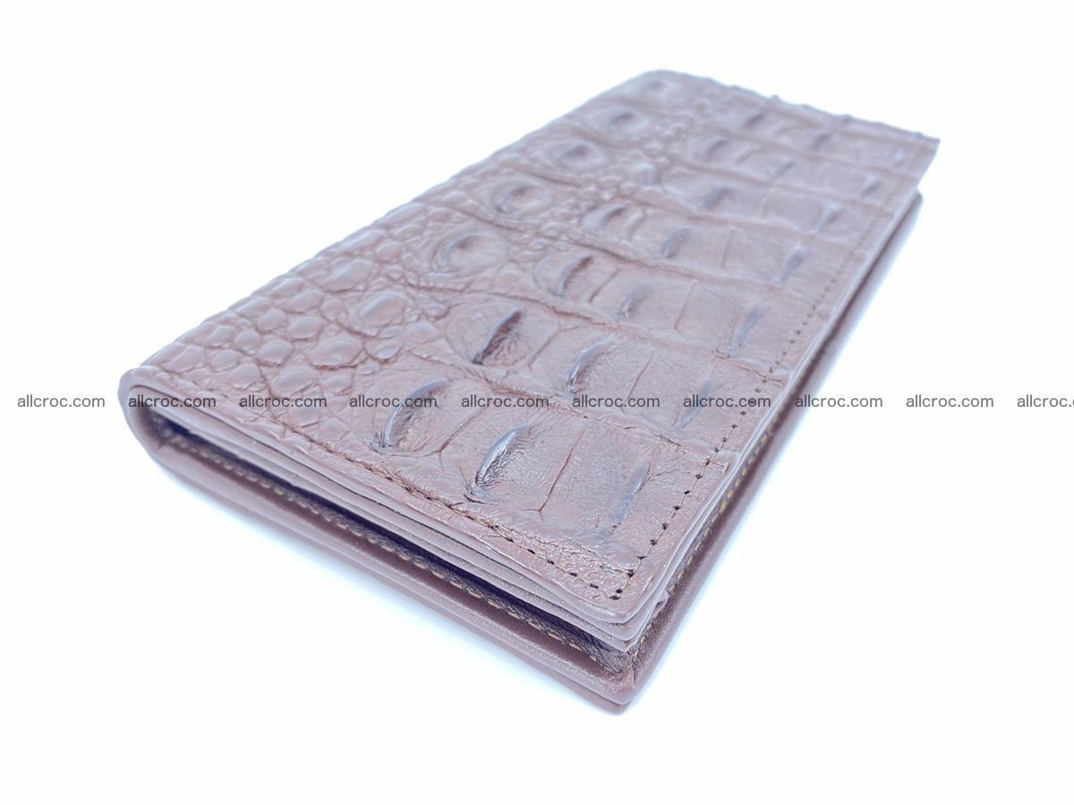 Crocodile skin long wallet 488 Foto 0