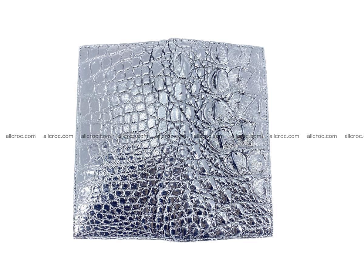 crocodile skin wallet bifold 483 Foto 8