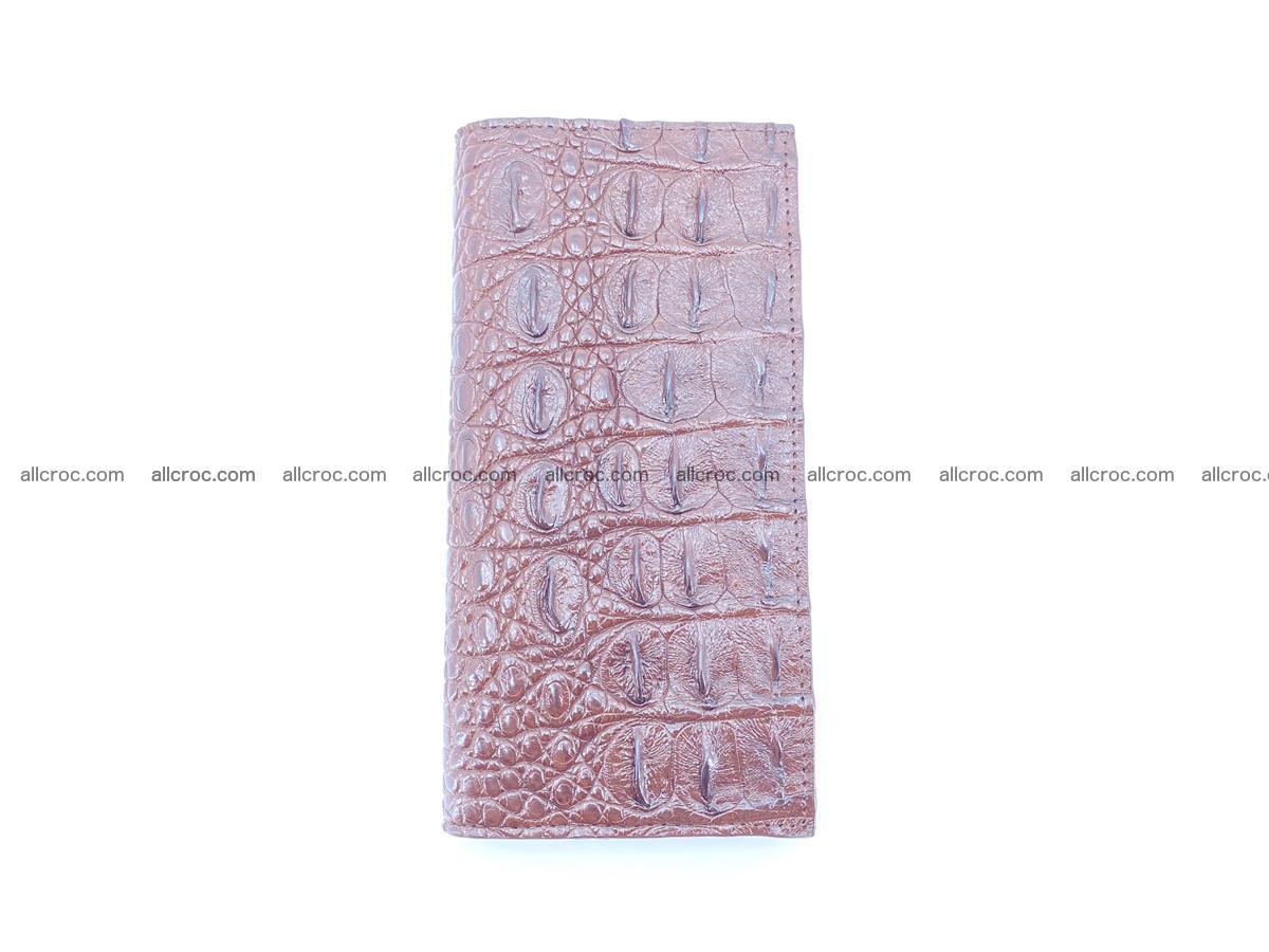 Crocodile skin long wallet 488 Foto 6