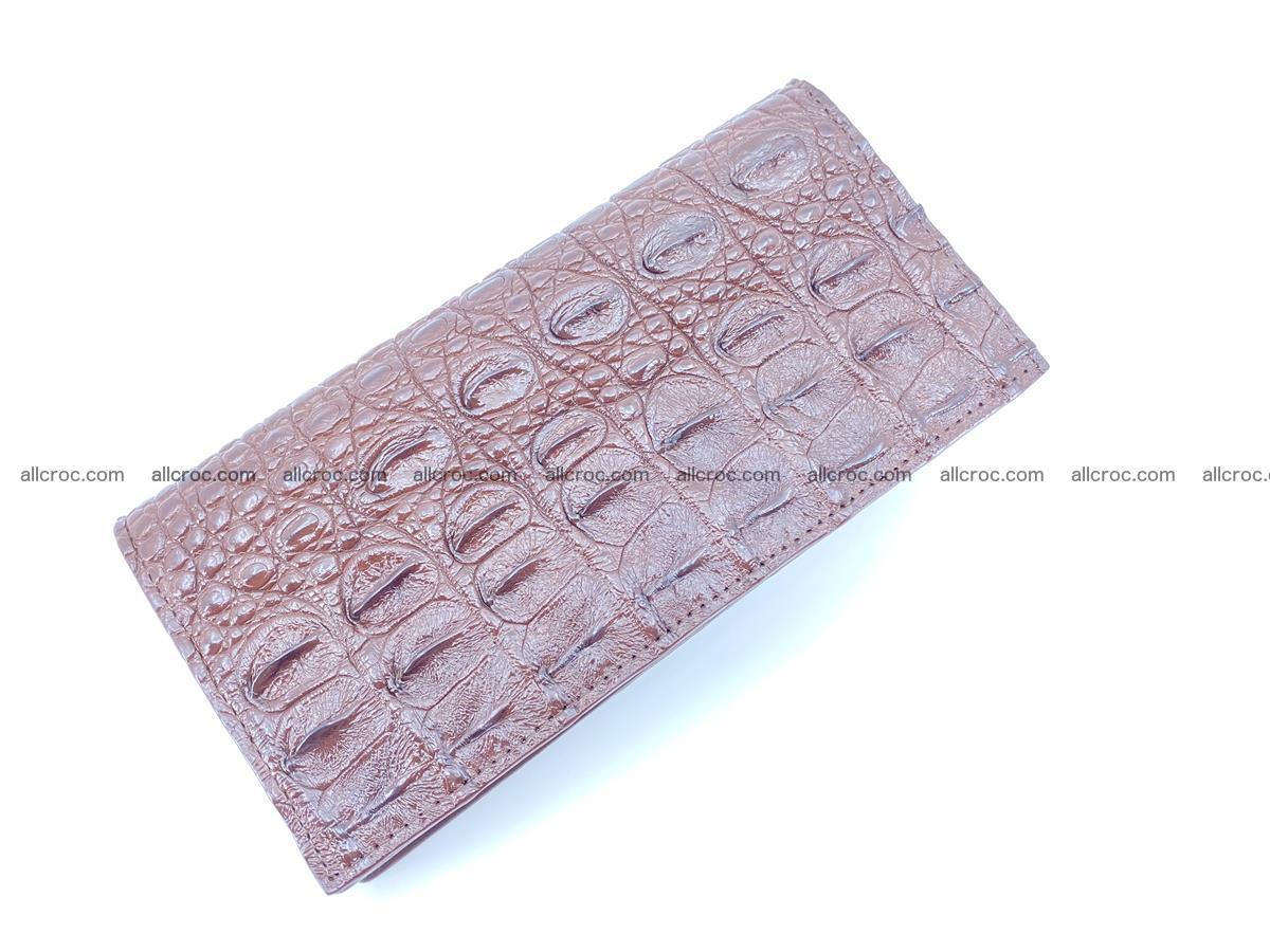 Crocodile skin long wallet 488 Foto 4