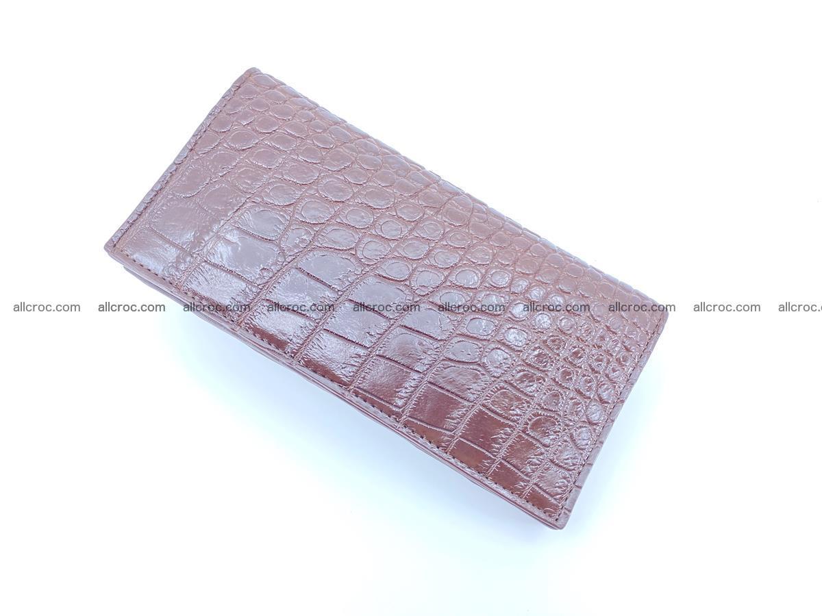 Crocodile skin long wallet 488 Foto 5