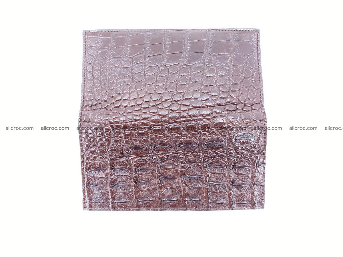 Crocodile skin long wallet 488 Foto 9